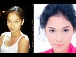filipina celebrities without make up