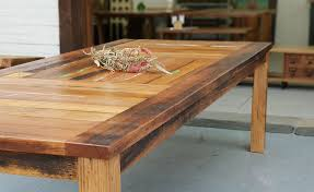 recycled timber tables furniture and