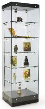 display showcases interior lit glass