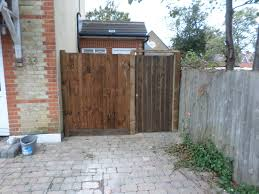G G 3x6ft Framed Tongue Groove Gate Brown 01322787312