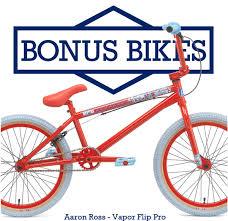 Sneak Peek: Sunday - Aaron Ross 2013 Vapor Flip Bonus Bike