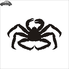 King Crab Fish Cangrejo Car Decal Crabe Posters Boat Decals Decor Mural Wall Sticker Angling Hooks Shop Vinyl Car Stickers Aliexpress