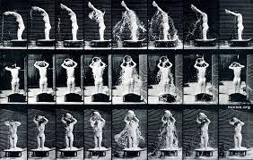 Eadweard Muybridge: Woman, pouring a basin of water over her head – Nucius!
