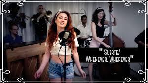 "Suerte/Whenever, Wherever"" (Shakira) Latin Cover by Robyn Adele ..."