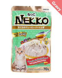 nekko cat food tuna topping en in