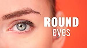 how to makeup for round eyes saubhaya