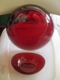 ruby red berry serving bowl 8 1 2 1