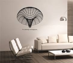 Black Hole Wall Decal To Infinity Beyond Design Mural Etsy Wall Stickers Home Decor Wall Decals Interior Design