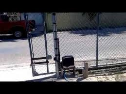Gate1 Gate Opener Opening And Closing A Chain Link Gate Chain Link Fence Gate Sliding Gate Opener Chain Link Fence