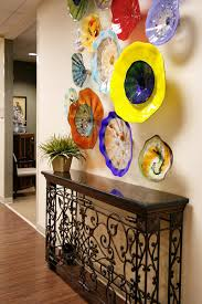 wall candy dish up colorful glass art