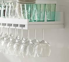 holman entertaining shelf wineglass
