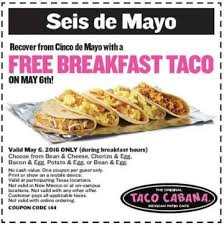 taco cabana s seis de hangover is back