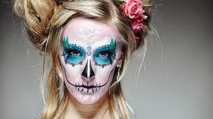 santa muerte sugar skull halloween