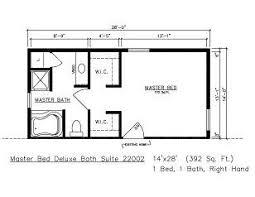floor plans for master suite