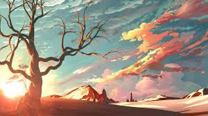 artistic landscape 4k wallpaper 3840x2160