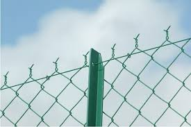 Chain Link Fence For T Post Chain Link Fence Fencing Material Fencing For Sale
