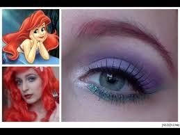 little mermaid ariel makeup tutorial