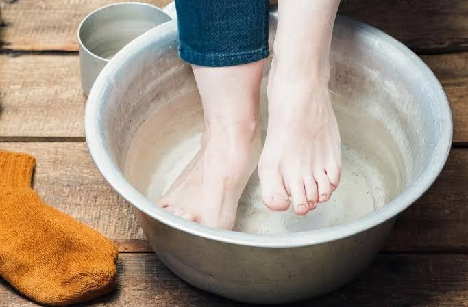 Image result for vinegar feet