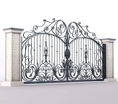2020 Luxury High End Forged Iron Fence Gate For Driveway Buy Forged Iron Fence Gate Iron Gate Design For House India Iron Gate 2020 Product On Alibaba Com