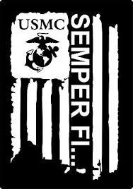Distressed Flag Usmc Semper Fi Marine Corps Vinyl Decal Sticker Car Truck Window 2 99 Picclick