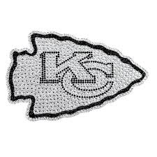 Kansas City Chiefs Bling Car Auto Emblem Adhesive Decal