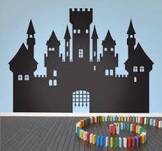 Medieval Silhouette Castle Wall Sticker Tenstickers