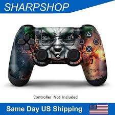 Game Decal Cover Skin Sticker For Playstation 4 Ps4 Controller Protector Ebay