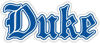 Duke Blue Devils Ncaa Vinyl Car Bumper Window Sticker Decal 7 X3 Ebay Duke Blue Devils Logo Vinyl Bumper Stickers Duke Blue Devils