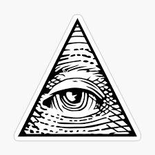 All Seeing Eye Stickers Redbubble