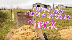 farm cs homemade manure spreader