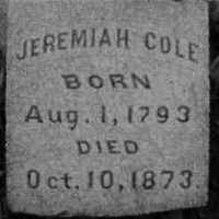 Jeremiah Cole (1793-1873) • FamilySearch