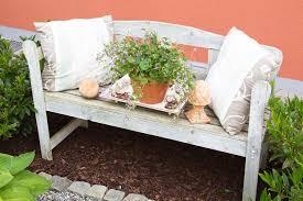 build your own vintage garden bench