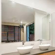 reflekta bevelled edge mirror