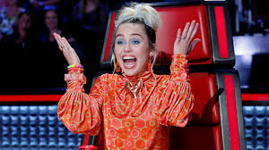miley cyrus just made the voice s most