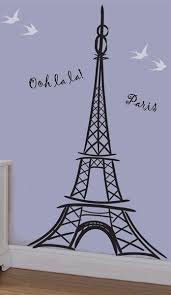 Eiffel Tower Wall Decal Sticker Home Import World