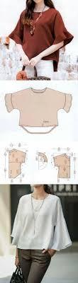 Pin de Maria Adela Brooks en Costura - blusas y tops | Confección de ropa,  Patrones de blusa, Patrones de ropa