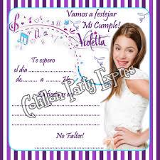 Carteles De Violetta Para Cumpleanos