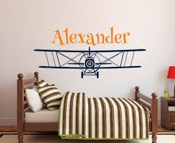 Large Size Personalized Airplane Name Wall Decal Custom Boy S Name Wall Stickers For Kids Room Nursery Wall Art Mural A048 Sticker For Kids Room Wall Stickers For Kidsname Wall Stickers Aliexpress