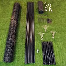 8 X 100 Maximum Strength Deer Fence Kit With Rodent Protection Deerfence