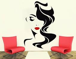 Beautiful Woman Face Beauty Salon Wall Decal Lashes Wall Decor Etsy In 2020 Sticker Decor Wall Painting Decor Salon Wall Art