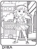 Dora En Friends Kleurplaten Zonder Reclame