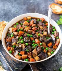 crockpot beef stew recipe well plated