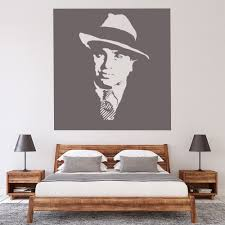Al Capone 1920 S Gangster Wall Sticker Ws 16142 Ebay