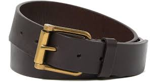 tanned leather belt in brown for men lyst
