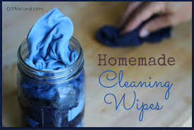 homemade wipes for cleaning and