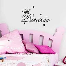 Pvc Solid Kids Room Wall Sticker Removable Princess Sleeps Wall Stickers Art Vinyl Decals Baby Girls Room Decorative Decal 803 Wall Stickers Aliexpress