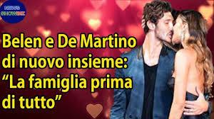 """Belen Rodriguez e Stefano De Martino di nuovo insieme: """"La ..."""