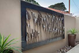 metal outdoor wall art melbourne wall
