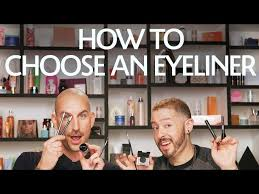 how to choose the best eyeliner for