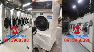 Máy giặt sấy công nghiệp Minh Dũng - YouTube